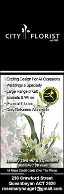 wedding flowers queanbeyan city florist florists 236 st queanbeyan