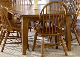 Pub Style Dining Room Set Rectangular Leg Table Oak With Hardwoods U0026 Ash Veneers In Rustic