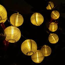 led lantern string lights lantern string lights deallink battery powered 20 led waterproof