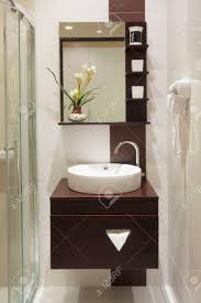 luxury small bathroom in hotel stock photo picture and royalty