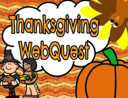 thanksgiving webquest printable booklet worksheets