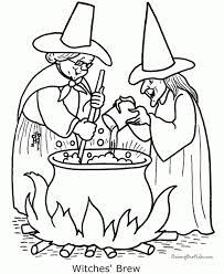 free witch coloring pages kids ddpa0
