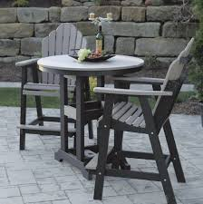 Patio High Table And Chairs Patio Bar Height Table And Chairs Home Design Ideas