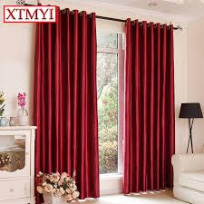 stores pour chambres à coucher blackout rideaux pour la chambre à coucher solide couleurs rideaux