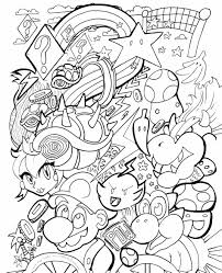 kirby game coloring pages coloring