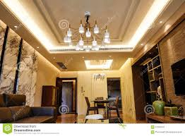 Livingroom Lighting Living Room Home Led Ceiling Lighting Stock Photo Image 61900470