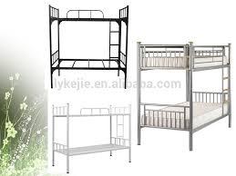 standard round steel tube kd single metal bed modern simple metal