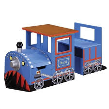 thomas the train activity table and chairs teamson kids trains and trucks train writing desk w 8207a