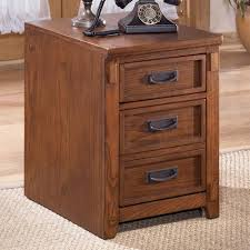 Mobile File Cabinet Furniture Cross Island Mission 2 Drawer Mobile File Cabinet