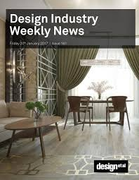 design industry weekly news issue 161 by design et al issuu