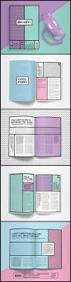 magazine layout size square background of book brochure flyer magazine modern vector