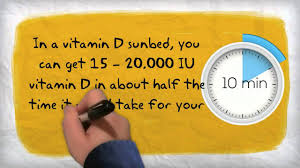 Do Tanning Beds Provide Vitamin D Vitamin D From Sunbeds Youtube