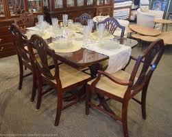 duncan phyfe 7 pc dining set new england home furniture consignment
