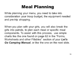 Shopping Worksheets Basic Troop Camping Online Pre Session Ppt Download