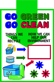 design logo go green make a poster about recycling go green go clean poster ideas