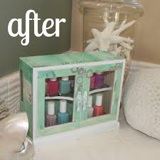 Nail Varnish Cabinet Summer Crafting Day 8 Wooden Cabinet Makeover U2014 Me U0026 My Big Ideas