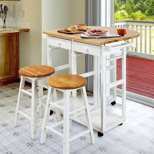 Drop Leaf Breakfast Table Arts And Crafts Breakfast Cart With Drop Leaf Table Free