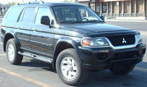 2001 mitsubishi montero sport information and photos zombiedrive