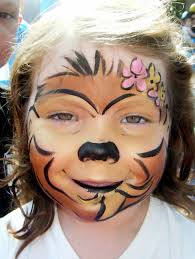 monkey face painting by larissa at www njfacepainter com my
