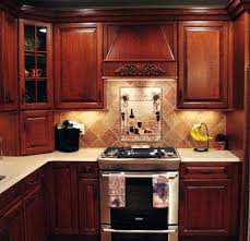 kitchen cabinet backsplash cherry cabinets blue backsplash wood kitchen cabinet designs
