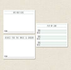 wedding quotes pdf printable 4x3 wedding card set groom advice song request
