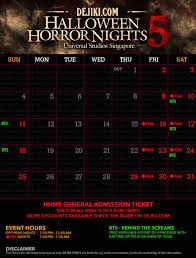 when is halloween horror nights 2015 halloween horror nights 5 revealed dejiki com