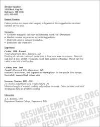 Cashier Resume Samples by 6 Cashier Resume Sample Budget Template Letter