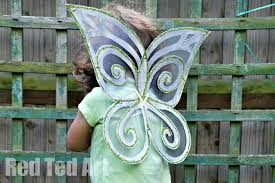 fairy wing craft red ted art u0027s blog