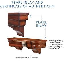 Shenandoah Furniture Manufacturer by 60 U0027 U0027 Shenandoah Unfinished Fireplace Shelf By Pearl Mantels