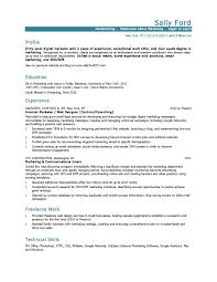 entry level resume entry level marketing resume jmckell