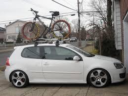 wtb oem gti mkv roof rack bike rack south florida vw gti