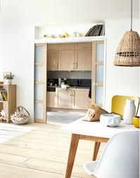 meuble de cuisine avec porte coulissante porte de cuisine coulissante