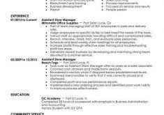 Retail Management Resume Examples amusing retail manager resume examples 6 best retail assistant