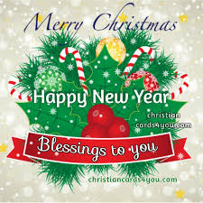 merry blessings for the new year 2018 the best