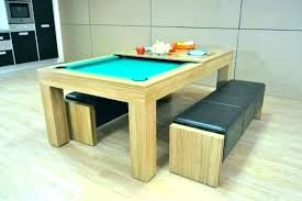 Dining Room Pool Table Combo Dining Room Pool Table Billiard Table Dining Table Combination