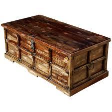 brass trunk coffee table asian splendor mango wood brass inlay coffee table storage chest 16
