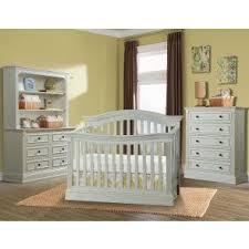 trinity 4 piece group crib double dresser chest u0026 bookcase hutch
