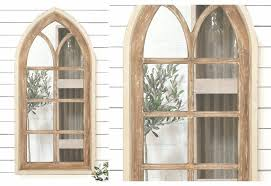 Ideas Design For Arched Window Mirror 3 Pc Scroll Metal Window Mirror Wall Decor Probably