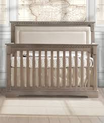 Baby Crib Convertible To Toddler Bed by Nursery Decors U0026 Furnitures Crib With Upholstered Headboard In
