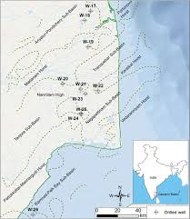 Blank Map Of Tectonic Plates by Prediction Of Pore Pressure And Fracture Pressure In Cauvery And