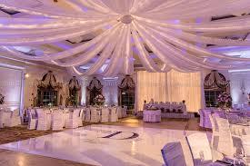 Ceiling Drapes With Fairy Lights Venutis Wedding Elegant Event Lightingelegant Event Lighting