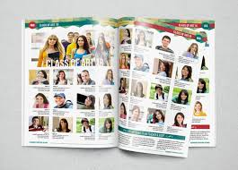 free yearbook yearbook template design vol 1 by hiro27 graphicriver