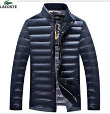 doudoune lacoste pas cher pas 2018 nouveau doudoune lacoste homme sport col montant manteaux solde