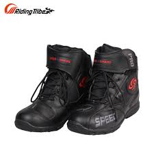 blue motorbike boots men motorcycle boots motocross racing speed motorbike shoes moto