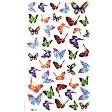 amazon com king small butterfly stickers waterproof