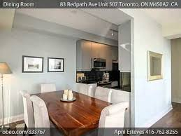 Two Bedroom Condo For Sale Toronto 83 Redpath Ave Unit 507 2 Bedroom Plus Den For Sale Toronto