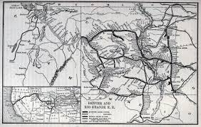 Map Of Rio Grande River The Denver And Rio Grande Western Railroad