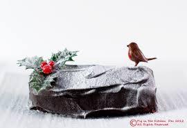 pig in the kitchen red velvet yule log gluten free egg free