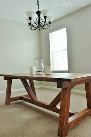 Building A Farmhouse Dining Table Diy Distressed White Dining Table Best Gallery Of Tables Furniture
