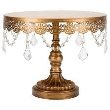 gold cake stands 12 inch gold cake stand wayfair
